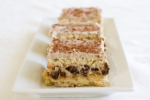 Tiramisu Cheesecake Bars - 7