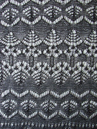 New Lerwick Lace Shawl Border patterns