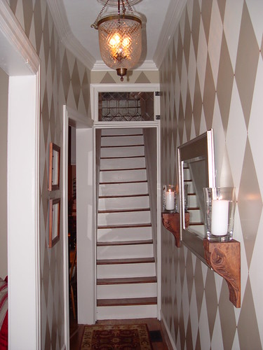 By The Time The Photo Above Was Taken, We Had Already Stripped And  Painted/refinished The Stairs And Re Plastered The Stairwell Walls, But The  Handrail ...