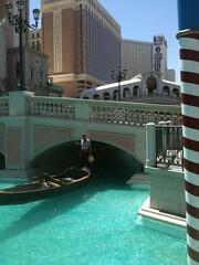 Gondola, Gondolier, Water, Vegas, Bridge (cmarandola) Tags: blue venice lasvegas gondola gondolier waterlasvegasvenicegondoliergondolablue