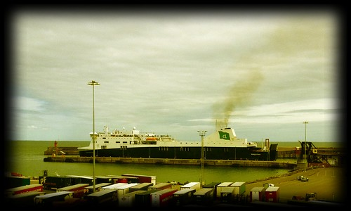 Norman Voyager in Rosslare. by despod