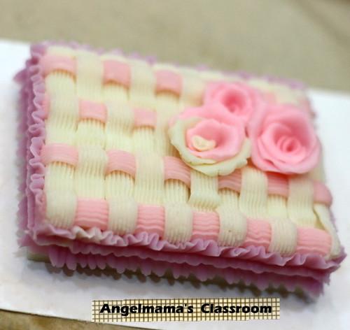 天使媽媽蛋糕皂教學 007