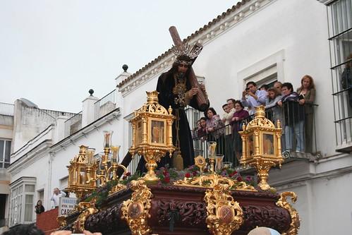 Nuestro Padre Jesús del Silencio. Procesión Magna del Santo Entierro. Sanlúcar de Barrameda, Sábado Santo 2011