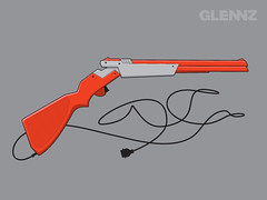 Shotgun (Glennz Tees) Tags: art nerd fashion illustration design funny geek drawing humor cartoon tshirt gaming illustrator draw popculture tee vector ai apparel adobeillustrator glenz glennjones glenjones glennz gleenz glennnz