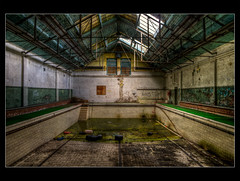 Mourning breath (raw.tism) Tags: uk urban abandoned boys pool swimming lost peeling paint decay secure smashed mould exploration derelict hdr ue unit urbex vandalised reformatory justaddwater 2011 borstal rawtism