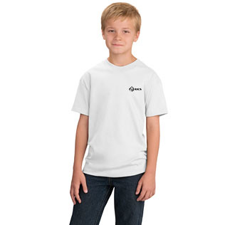 Port & Company® Essential Youth T-Shirt (White) 3353Y 316 White