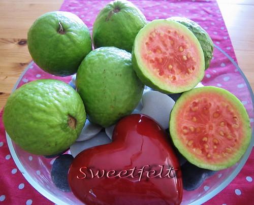 I ♥ goiabas !!! by sweetfelt \ ideias em feltro