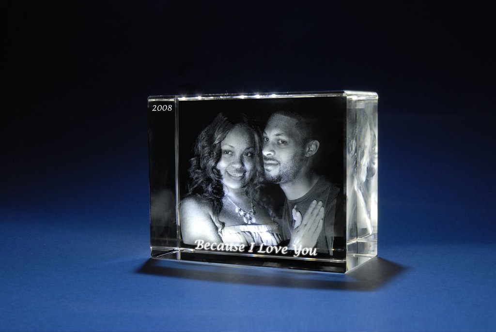 Photo Engraved Crystal 3d Laser Crystal Gifts Auto