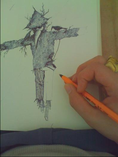 drawing of need twist Hangman
