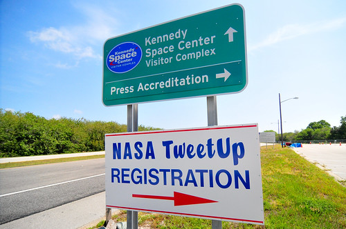 STS-134 NASA Tweetup: Registration