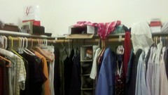 BEFORE: Hanging Clothes