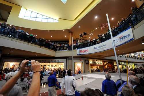 Day 117 - Pole Vault at the Mall: Miles