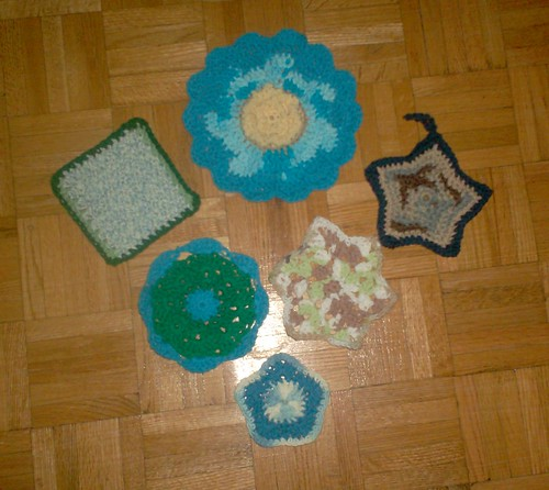 Crocheted Dishcloths