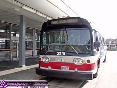 2316 11 (GrapejuiceGTA) Tags: gm carlton highpark ttc fishbowl newlook mainstation 2316 506carlton dieseldivision