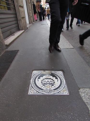 Shepard Fairey streetpiece