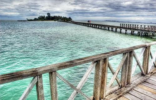 The bridge to Tidung Island 2