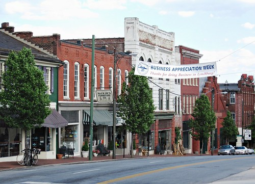 Main Street, Lynchburg (c2011 FK Benfield)