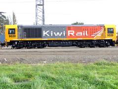 DL9020 In Palmerston North Yard (Raurimu_Spiral) Tags: new train diesel north palmerston rail railway zealand nz locomotive kiwi dl 9020 kiwirail dl9020