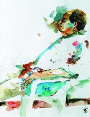 Tide Hellmeister (Oliver Quinto) Tags: watercolor galeria watercolour pintura exposição aquarela coletivo oliverquinto otédiosegundoolivequinto
