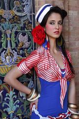 LA ROSA DE LOS VIENTOS simof 2011 (Antonio Jimenez Carrasco) Tags: de antonio carrasco diseo traje flamenca gitana jimenez diseador