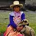 Cholita en Cumbemayo