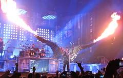 Rammstein Concert in New York (Anirudh Koul) Tags: new york city usa concert nj center rammstein izod izodcenter tilllindermann lastfm:event=1843186