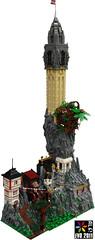 Victorian Fantasy Fortress (AlterEvo) Tags: castle logo lego victorian ale fantasy fortress evo steampunk moc
