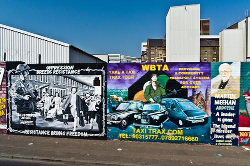 Belfast City Murals