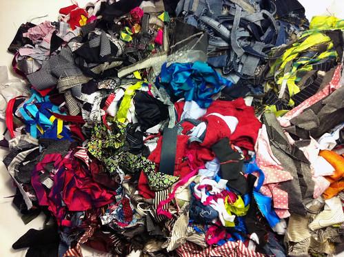 Scraps pile