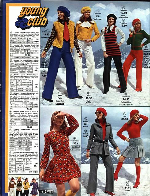 1972 Quelle 6 Junge Mode