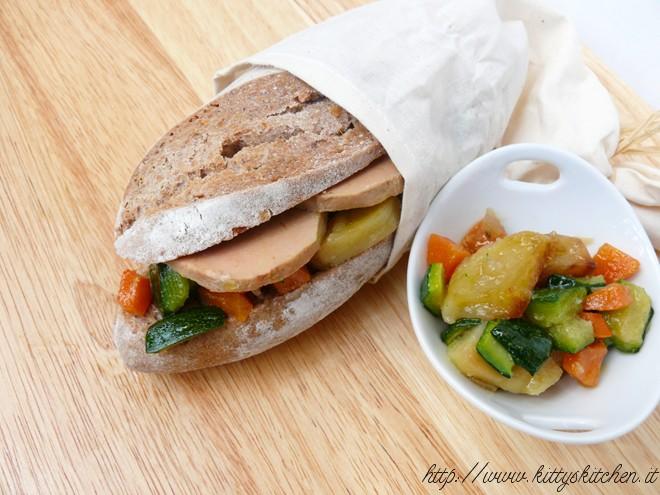 foie gras e ratatuille