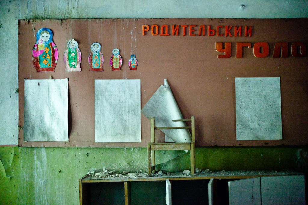 Chernobyl: Message board