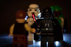 Hello Mr Solo. You're coming with us! (sj9966) Tags: macro canon dark starwars force lego stormtrooper bobafett darthvader tamron darkside hansolo empirestrikesback darklord lightsabre carbonite