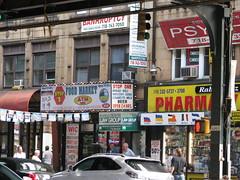 Brighton Beach Ave., Brooklyn (Dan_DC) Tags: nyc urban newyork brooklyn grit coneyisland words stock gritty neighborhood license language brightonbeach rf imagebank royaltyfree urbangrit flatfee ethnicenclave scenesfromthegrittycity