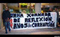 #acampadacorua (Carolina Igrexas) Tags: acorua pancarta lema democraciarealya acampadacorua