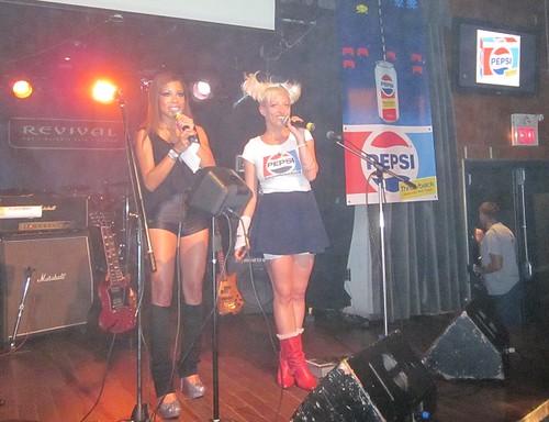 Keisha Casie at Revival 31May2011, Pepsi Throwback