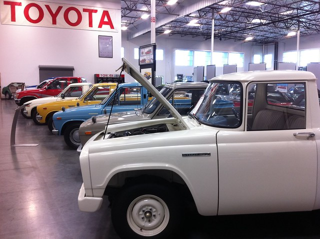 pickup toyota hilux toyotausaautomobilemuseum