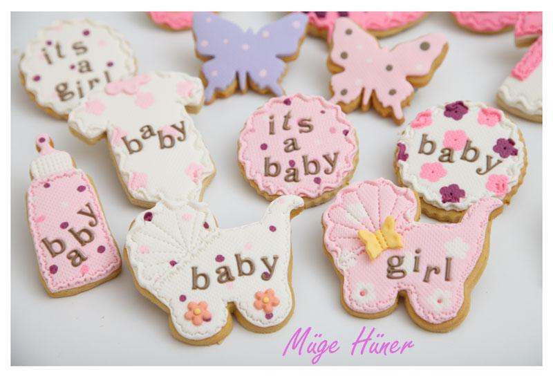 Kız Bebek Kurabiyeleri -4