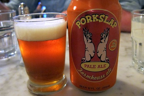 Pork Slap! Nice name for a beer.