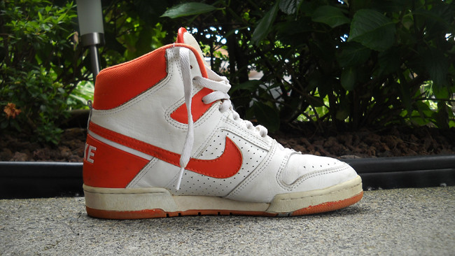 official photos c8ae8 daa75 1987 Nike Air Delta Force (AirForceV) Tags basketball vintage high 1987  nike used
