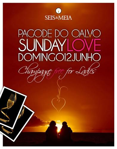 Flyer Dia dos Namorados - Seis & Meia by chambe.com.br
