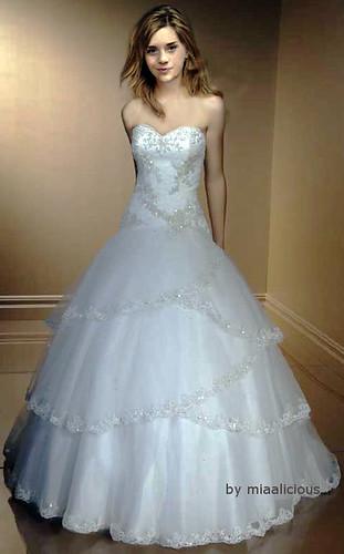 emma watson wedding dress   Wedding
