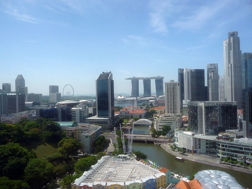 View from Novotel Clarke Quay