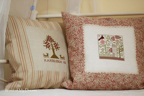 Heart in the Garden pillow
