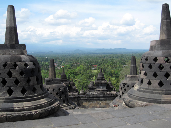 5839261686 8172822986 o Photo Favorite: On top of Borobudur Temple, Java, Indonesia