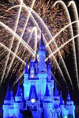 It's Friday and Disney Eve! (Wesley Lowe) Tags: fireworks wishes magickingdom tamron18270