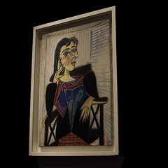 "Picasso's ""Portrait of Dora Maar"" (Greatest Paka Photography) Tags: sanfrancisco california art deyoungmuseum museum studio spain artist photographer lovers eros picasso painter surrealist companion guernica pablopicasso ruedesgrandsaugustins doramaar georgesbataille georgesbraque henriettetheodoramarkovic"