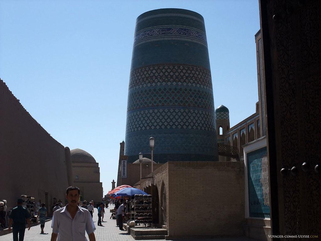 Kalta Minar, le joyau de Khiva