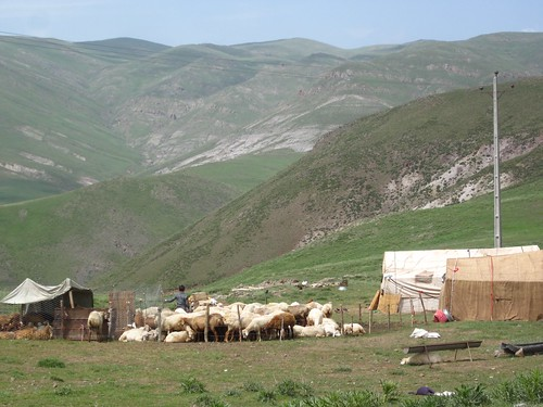 Nomads on the steeps of Sabalan.