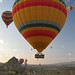 Hot air balloons near Goreme, Turkey